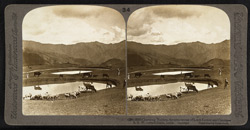 Charming Naldera, favorite retreat of Lords Lytton and Curzon - [looking] S.S.W. towards Simla, India